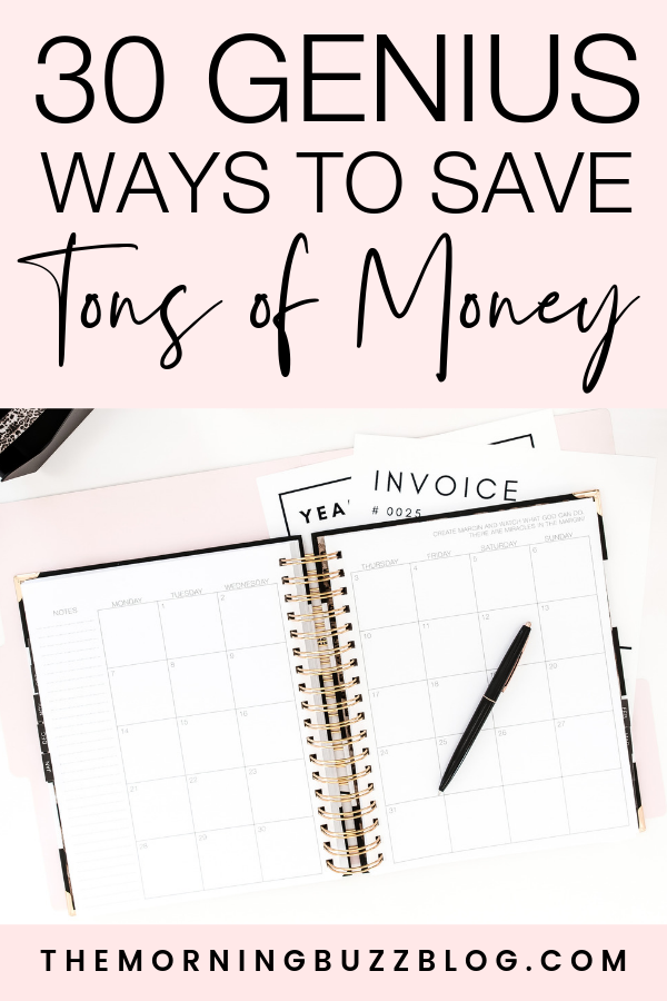 30 genius ways to save money