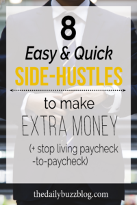 8 easy side-hustles to make extra money