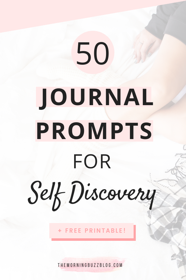 50 journal prompts for self discovery